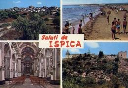 Saluti Da Ispica - Ragusa - Formato Grande Viaggiata – E 10 - Ragusa