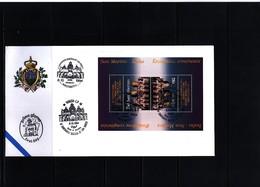 Italy + San Marino 1994 Joint Issue Basilica San Marco Venezia FDC - Gemeinschaftsausgaben