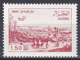 Algerien Algeria 1991 Ansichten Landschaften Landescape Städte Stadt Kolea Pferde Horses, Mi. 1037 ** - Algerien (1962-...)