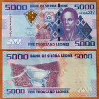 Sierra Leone 5000 Leones 2013 UNC - Sierra Leone