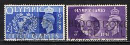 GRAN BRETAGNA - 1948 - OLIMPIADI DI LONDRA - USATI - Usati