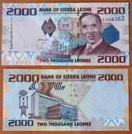 Sierra Leone 2000 Leones 2010 UNC - Sierra Leona