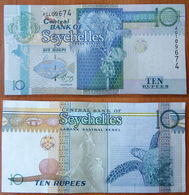Seychelles 10 Rupees 1998 аUNC - Seychelles