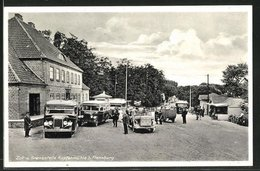 AK Flensburg, Zoll- Und Grenzstelle Kupfermühle - Customs