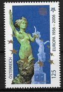 Autriche 2006 N° 2407 Neuf Cinquantenaire Des Timbres Europa - Idee Europee