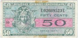 Estados Unidos - United States 50 Cents 1954 Pick 32 Militar Ref 2 - Certificados De Pagos Militares (1946-1973)