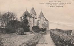 ***  33  ***   CABARA Château De Blagnac Pli Marqué - Timbrée - France