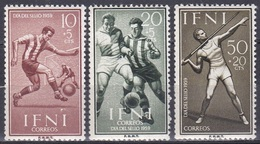 Spanien Espana Ifni 1959 Sport Spiele Fußball Football Soccer Speerwerfen, Mi. 185-7 ** - Ifni