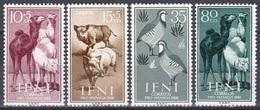 Spanien Espana Ifni 1960 Tiere Fauna Animals Kamele Camels Wildschweine Boars Hühner Fowls, Mi. 188-1 ** - Ifni