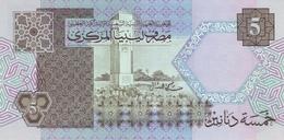 LIBYA P. 60c 5 D 1991 UNC - Libië