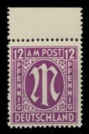 BIZONE AM-POST Nr 15bBy Postfrisch ORA X81E92A - Zona Anglo-Americana