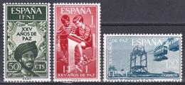 Spanien Espana Ifni 1965 Geschichte History Bürgerkrieg Civil War Seilbahn Ropeway Tram Sidi Ifni, Mi. 238-0 ** - Ifni
