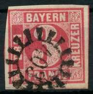 BAYERN QUADRATE Nr 9 GMR 403 Zentrisch Gestempelt X88247E - Bayern