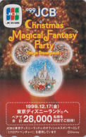 Télécarte Japon / 110-206641 - DISNEY - JCB - NOEL - CHRISTMAS - Japan Phonecard Telefonkarte - Disney