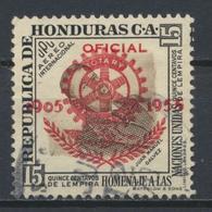 °°° HONDURAS - Y&T N°35 PA SERV. OFICIAL - 1955 °°° - Honduras