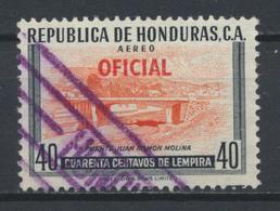 °°° HONDURAS - Y&T N°53 PA SERV. OFICIAL - 1956 °°° - Honduras
