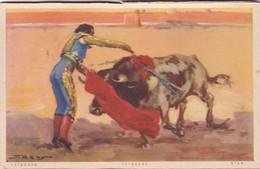 ESTOCADA, ESTOCADE. JDP. TOROS, BULLS CORRIDAS. CIRCA 1900s - BLEUP - Corrida