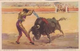 UN PAR DE BANDERILLAS, UNE PAIRE DE BANDERILLAS. JDP. TOROS, BULLS CORRIDAS. CIRCA 1900s - BLEUP - Corrida