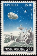 ROMANIA - Scott #2394 US Apollo Space Program (*) / Used Stamp - 1948-.... Republics