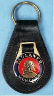 Schlüsselanhänger Paulaner München - Metall / Leder - Schlüsselanhänger