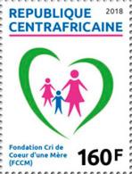 Z08 CA1803local01a Central Africa 2018 Cri De Coeur De Une Mere MNH ** Postfrisch - Repubblica Centroafricana
