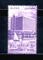 EGYPT / 1957 / SHEPHEARD-S HOTEL / NILE / SHIP / MNH / VF. - Egypt