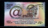 EGYPT / 2009 / IGF / INTERNET / COMPUTER / 4th Meeting Of Internet Governance Forum / MNH / VF. - Unused Stamps