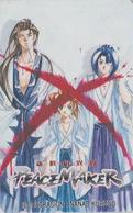 Télécarte Japon / 110-016 - MANGA -PEACE MAKER By NANAE KURONO -  ANIME Japan Phonecard - 10176 - Comics