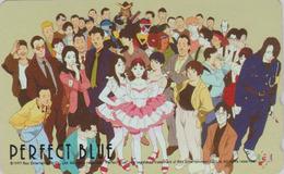 Télécarte Japon / 110-016 - MANGA - PERFECT BLUE By SATSHI KON -  ANIME Japan Phonecard - 10180 - Comics