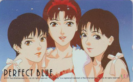 Télécarte Japon / 110-016 - MANGA - PERFECT BLUE By SATSHI KON -  ANIME Japan Phonecard - 10181 - Comics