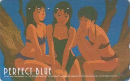 Télécarte Japon / 110-016 - MANGA - PERFECT BLUE By SATSHI KON -  ANIME Japan Phonecard - 10183 - Comics