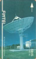 Fiji - GPT, Fintel, 4CWFB, Suva Earth Station, Satellite Dishes, 15$, 1,500ex, 1993, Used - Fiji