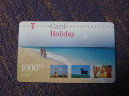 T-card, Holiday,mint Invalided(used In Spain Also?) - GSM, Cartes Prepayées & Recharges