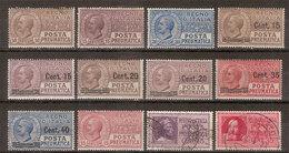 (Fb).Regno.V.E.III.P.Pn.1913-23.Lotto 12 Val.8 Nuovi Con Traccia Di Linguella,2 Usati (209-18) - 1900-44 Victor Emmanuel III