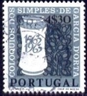 Apothecary Jar, 4th Cent., Of Publication In Goa, 1563, Portugal Stamp SC#924 Used - Oblitérés