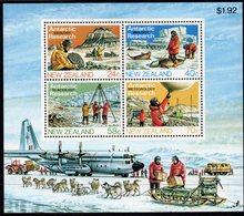 NEW ZEALAND, 1984 ANTARCTIC RESEARCH MINISHEET MNH - New Zealand