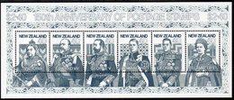 NEW ZEALAND, 1990 STAMP ANNIVERSARY MINISHEET MNH - New Zealand
