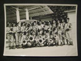 1961 FOTO MILITARI BERSAGLIERI BANDA FESTA GIURAMENTO BATTAGLIONE - Guerra, Militari