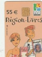 CARTE REGION LIVRES  55E   2005-2006..REGION HAUTE NORMANCIE - France