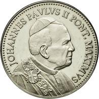 Vatican, Médaille, Pape Jean Paul II, SPL, Nickel - Jetons & Médailles
