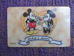 Prepaid Phonecard, Mickey& Minnie,mint Expired - Hong Kong