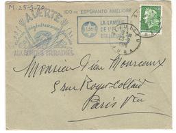 12593 -  IDO ESPERANTO ECOLOGIE - Marcophilie (Lettres)