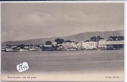 MAURICE- PORT-LOUIS- VUE DU PORT- PLIURE AU DOS - Maurice