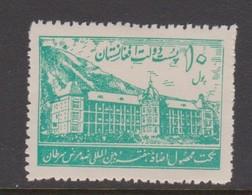 Afghanistan SG 256 1938 International Anti Cancer Fund 10p Green,MNH - Afghanistan