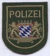 Bavaria Police Polizei - Germany, Patch, D 100 X 90 Mm - Polizei
