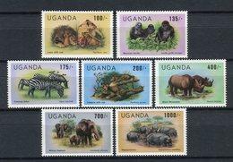 Uganda 1983. Yvert 343-49 ** MNH. - Uganda (1962-...)