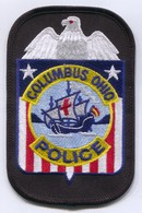 Columbus Police Polizei - Ohio United States, Patch, D 115 X 75 Mm - Police & Gendarmerie