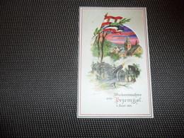 Guerre ( 342 ) Przemysl  1915 Oorlog - Hold To Light Tenir à La Lumière Durchscheinend - Carte Allemand Kriegspostkarte - Hold To Light