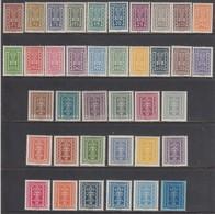 Austria 1922/1924 - Freimarken, Mi-Nr. 360/97, MNH** - 1918-1945 1ère République