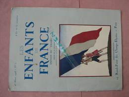 Les Enfants De France N° 1 Mars 1928 Edit. Du Figaro 29 Pages 21X29  TBE Voir Photos - Books, Magazines, Comics